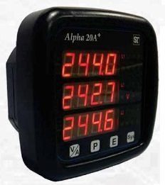 Alpha 20+ ANSI style Digital Panel Meter