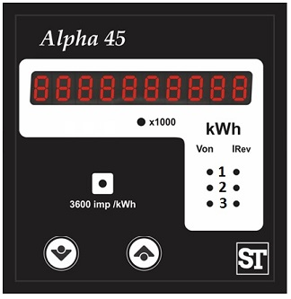 Alpha 45 kWh meter