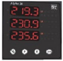 Alpha 20 Digital Meter, 3 line display