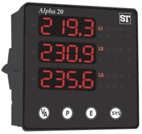 Alpha20 3 Phase Digital meter