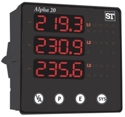Alpha 20 DPM 3 line display