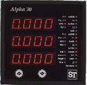 Sifam Alpha DIN style 3 phase meter