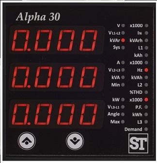 Alpha 30 Digital Panel Meter